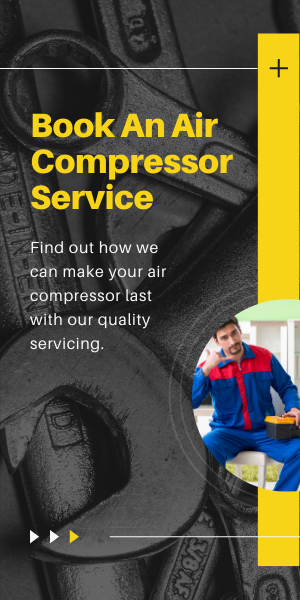 book a service for your air compressor
